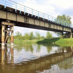 Most na drodze lokalnej Sobieski-Królewo