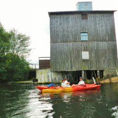Zabudowania młyńskie obecnie pełniące funkcję elektrowni wodnej